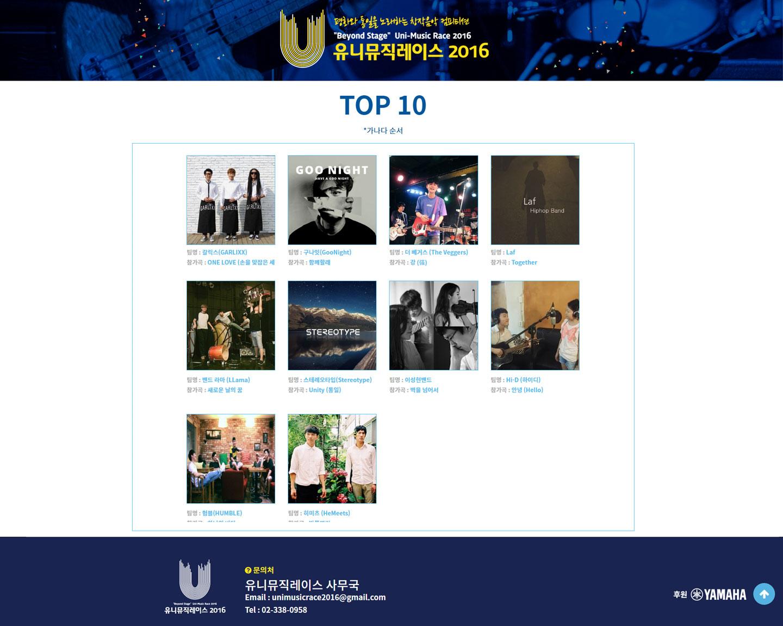 unimusic-top10